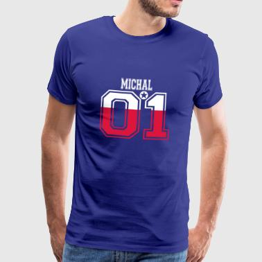 POLAND POLSKA 01 KING QUEEN BIRTHDAY Michal - Men's Premium T-Shirt