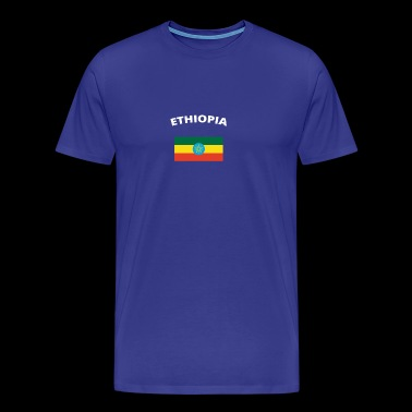 I love home homeland love roots ETHIOPIA - Men's Premium T-Shirt