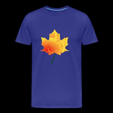 Maple leaf - autumn maple - Men's Premium T-Shirt