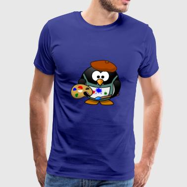 Painter Tux - Männer Premium T-Shirt