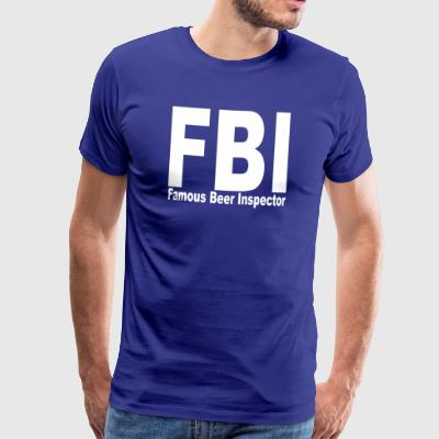 FBI - Premium T-skjorte for menn