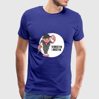 Mobster Lobster - Men's Premium T-Shirt