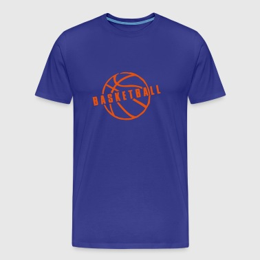 basketball - Mannen Premium T-shirt