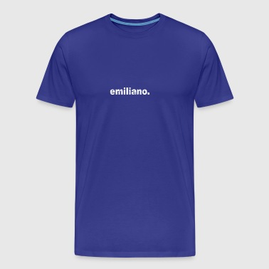 Gift grunge style first name emiliano - Men's Premium T-Shirt