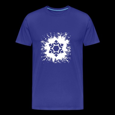 Cristal de glace de flocon de neige flocon de neige Splash2 - T-shirt Premium Homme