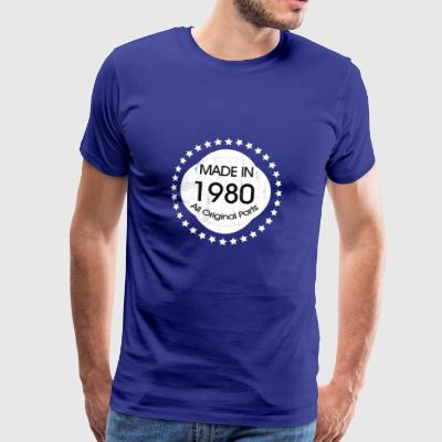 Made in 1980 All Original Parts - Men's Premium T-Shirt