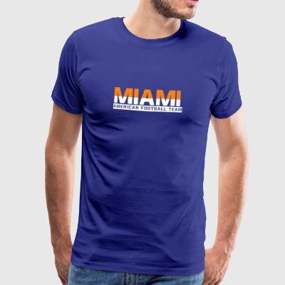 Miami Football - Männer Premium T-Shirt