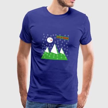 Let It Snow - Camiseta premium hombre