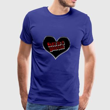 Diseased Heart - Men's Premium T-Shirt