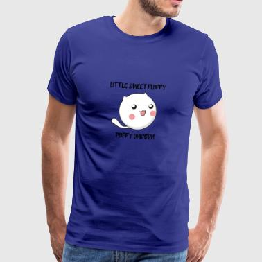 Little fluffy puffy Unicorn - Männer Premium T-Shirt