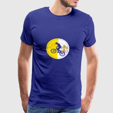 Bicycle bmx love biking Vatican City - Men's Premium T-Shirt