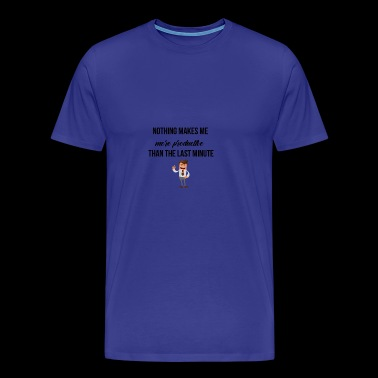 Being productive - Men's Premium T-Shirt