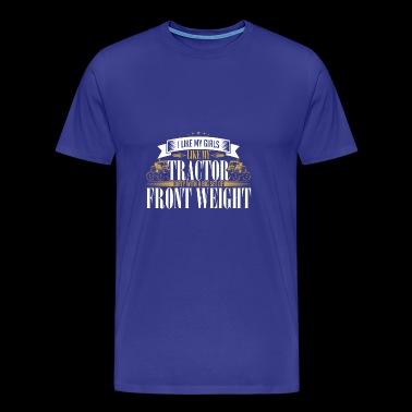 FRONT WEIGHT - Männer Premium T-Shirt