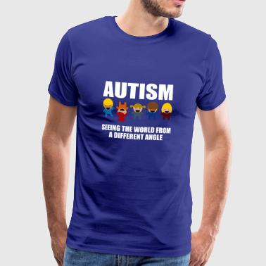 Autisme Awareness Gave T-shirt - Herre premium T-shirt