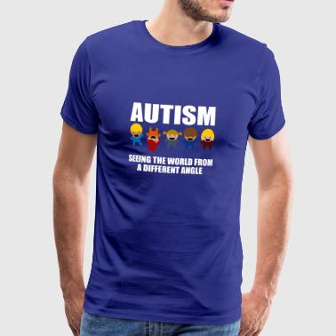 Autism Awareness Gift T-shirt - Men's Premium T-Shirt