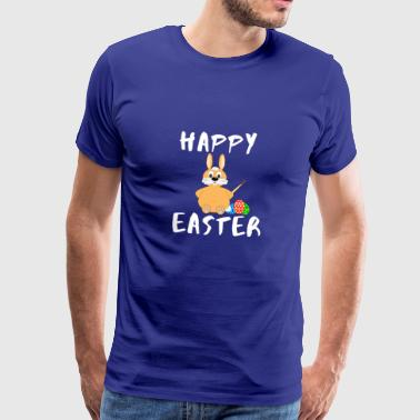 Happy easter spring easter bunny gift idea - Men's Premium T-Shirt