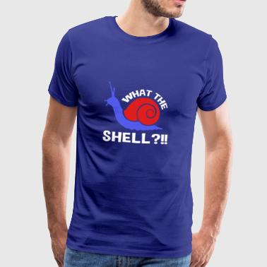 Funny What The Shell T-shirt - Men's Premium T-Shirt
