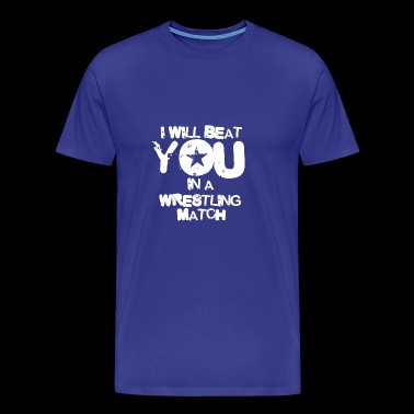 WRESTLING - Men's Premium T-Shirt