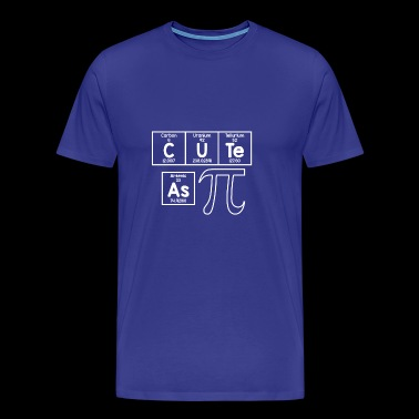 CUTE AS PI: MATH MATHEMATICS ANALYSIS NUMBERS - Men's Premium T-Shirt