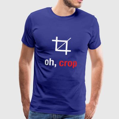 Oh crop - Men's Premium T-Shirt