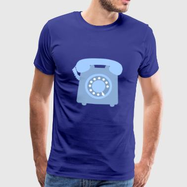 telephone telefon phone handy communication - Männer Premium T-Shirt