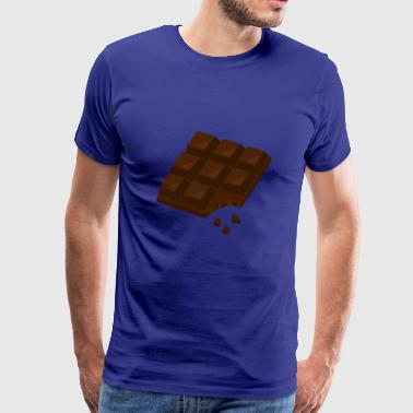 Chocolate crunched - Men's Premium T-Shirt