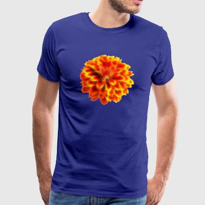 Flower Power II - ORANGE EDITION - Männer Premium T-Shirt