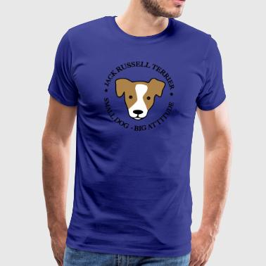 6061912 127731443 jackrussell - T-shirt Premium Homme