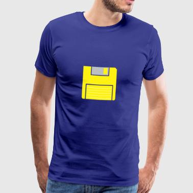 Retro diskette - Men's Premium T-Shirt