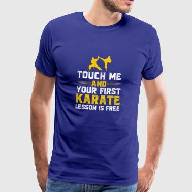 Gift for karate fighter, poison karate fighter - Men's Premium T-Shirt