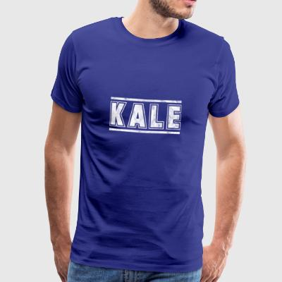 Shirt for vegans as a gift - Kale - Men's Premium T-Shirt