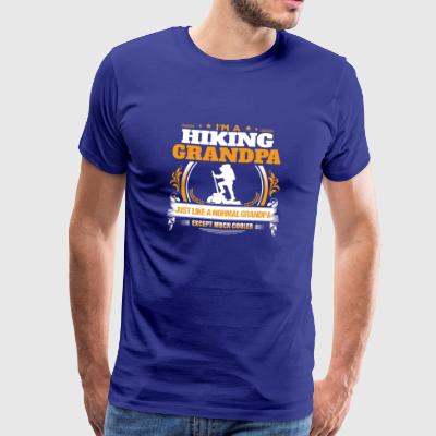 Hiking Grandpa Shirt Gift Idea - Men's Premium T-Shirt
