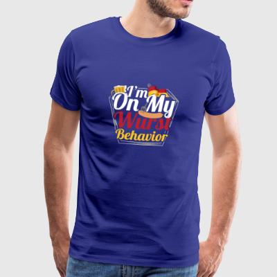 Sausage Behavior Oktoberfest - Men's Premium T-Shirt