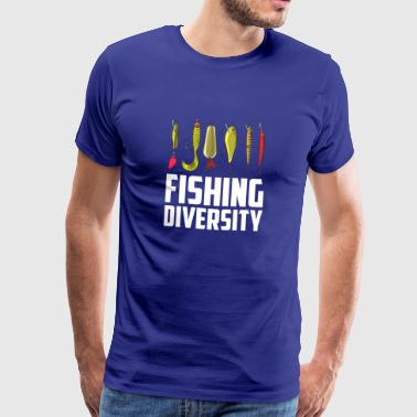 Fishing fishing bait funny gift Christmas - Men's Premium T-Shirt