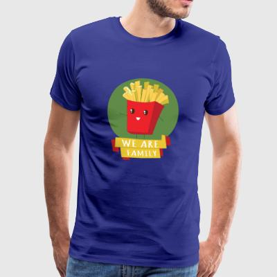 POMMES - WE ARE FAMILY - Men's Premium T-Shirt