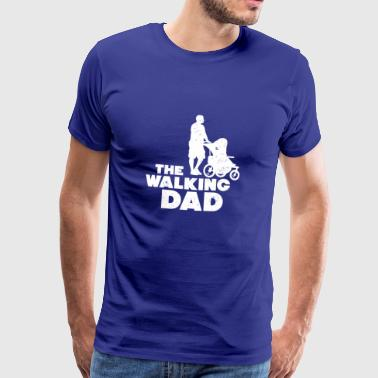 Funny The Walking Dad Gift - Premium-T-shirt herr