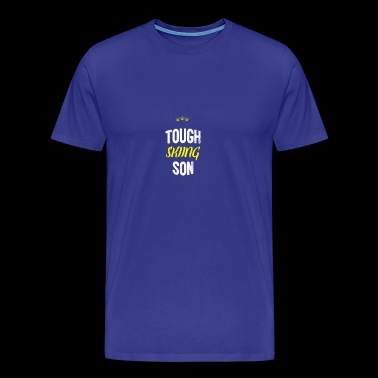 Distressed - TOUGH SON SKIABLE - T-shirt Premium Homme