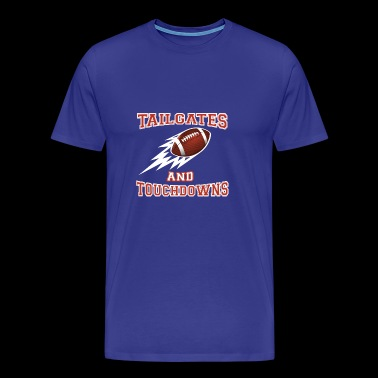 Tailgates and Touchdowns Family Football - Men's Premium T-Shirt