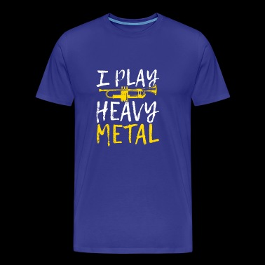 Jag PLAY HEAVY METAL - Premium-T-shirt herr