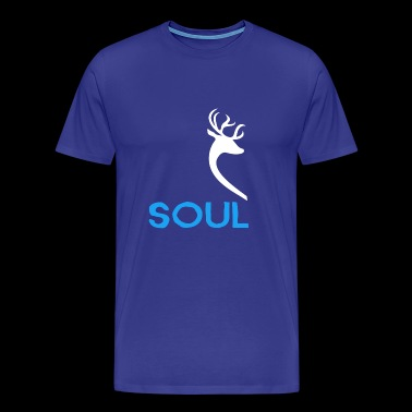 Shop Soul Mate MALE Couple Shirt Design - Men's Premium T-Shirt