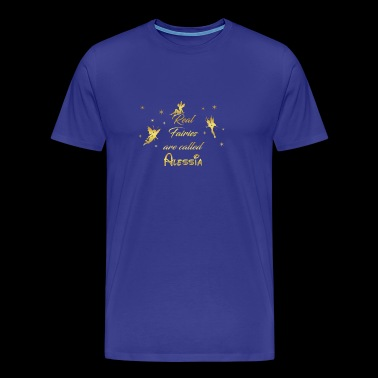 fairy fairies fairy first name Alessia - Men's Premium T-Shirt
