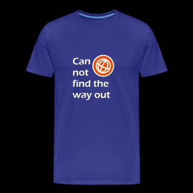 way out / The way out - Men's Premium T-Shirt