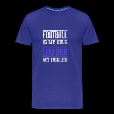 Leicester Football Football as a great gift fan - Men's Premium T-Shirt