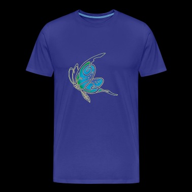 celtic butterfly - Men's Premium T-Shirt