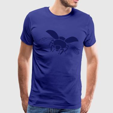 dung beetle dor beetle insect wings bug - Men's Premium T-Shirt