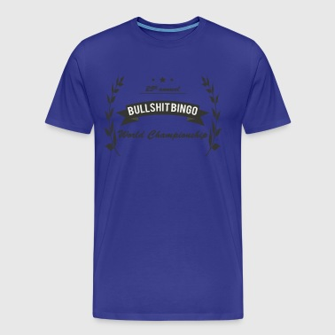 Bullshit Bingo World Championship - Men's Premium T-Shirt