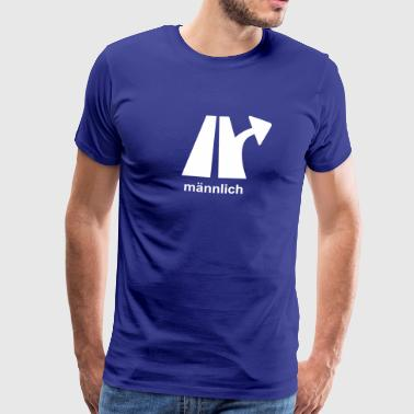 Motorway exit - Men's Premium T-Shirt