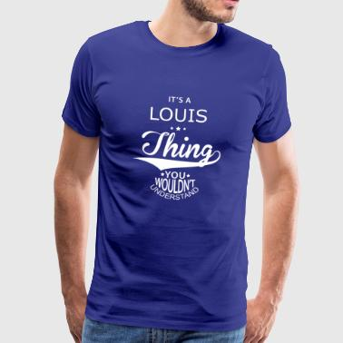 Louis - Premium T-skjorte for menn
