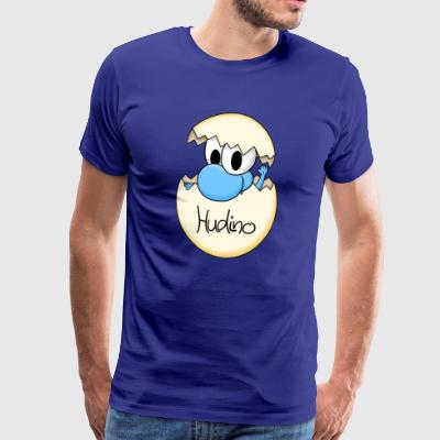 Hudino Baby Blue - Men's Premium T-Shirt