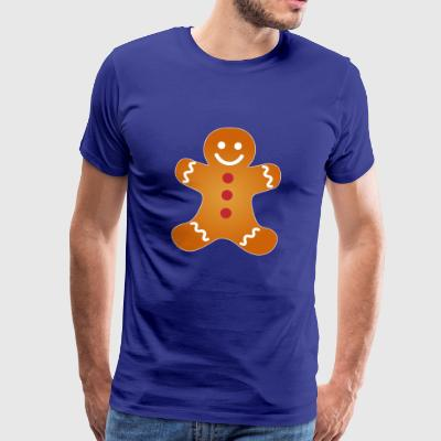 Ugly jul Weihanchten partnere shirt Gingerbread - Herre premium T-shirt